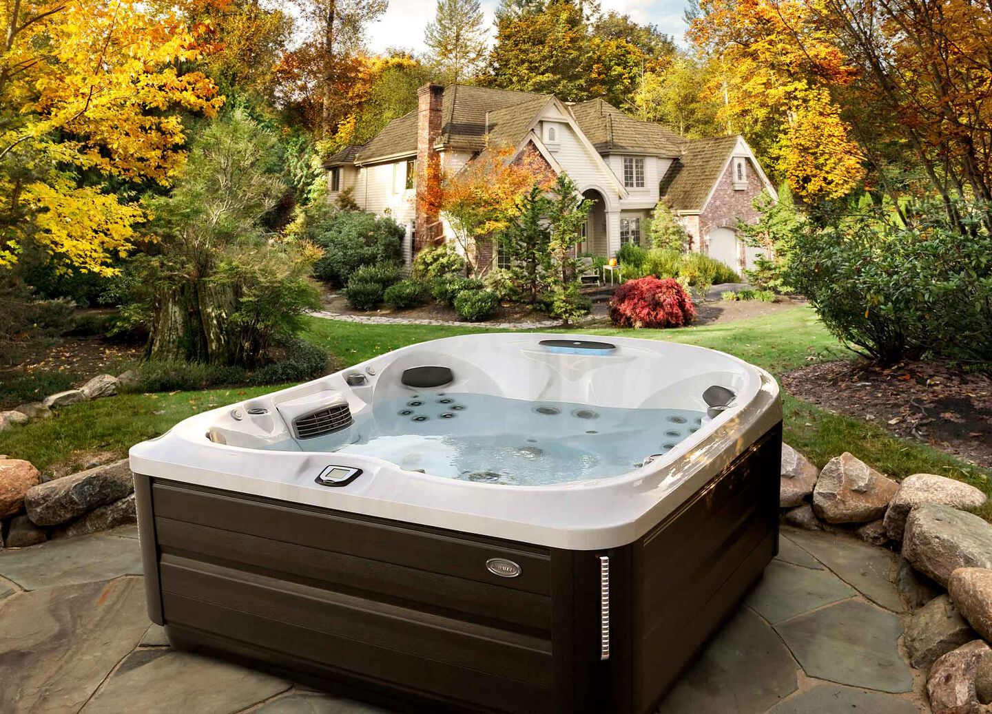Inspire Wellness in a J-400 hot tub