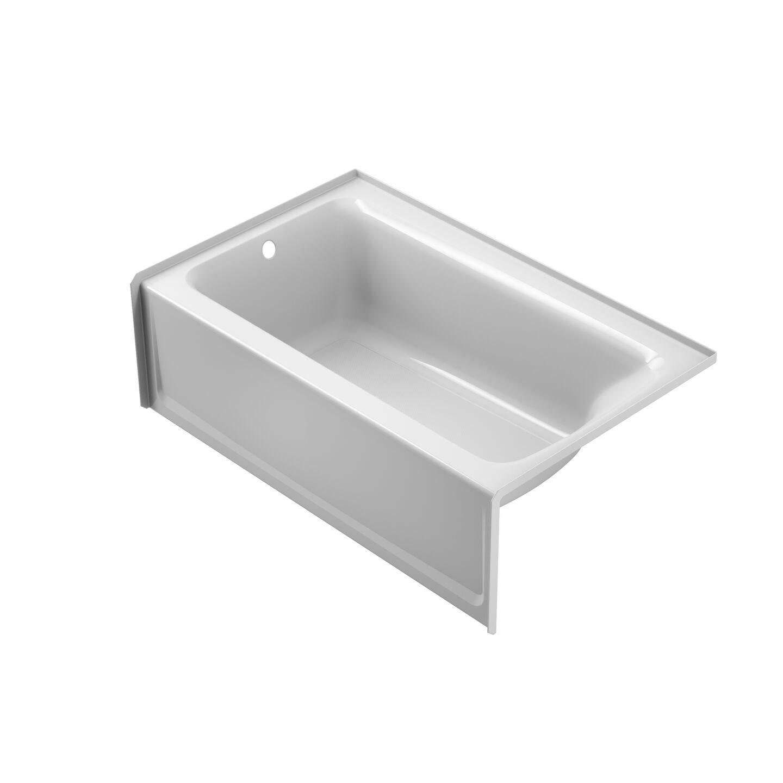 "19"" Rectangle Skirted Soaker Tub"