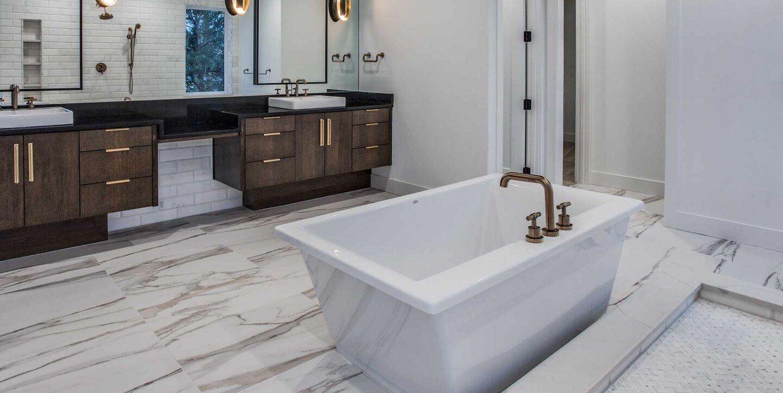 Fiore Freestanding Bathroom by Ellie Visconti