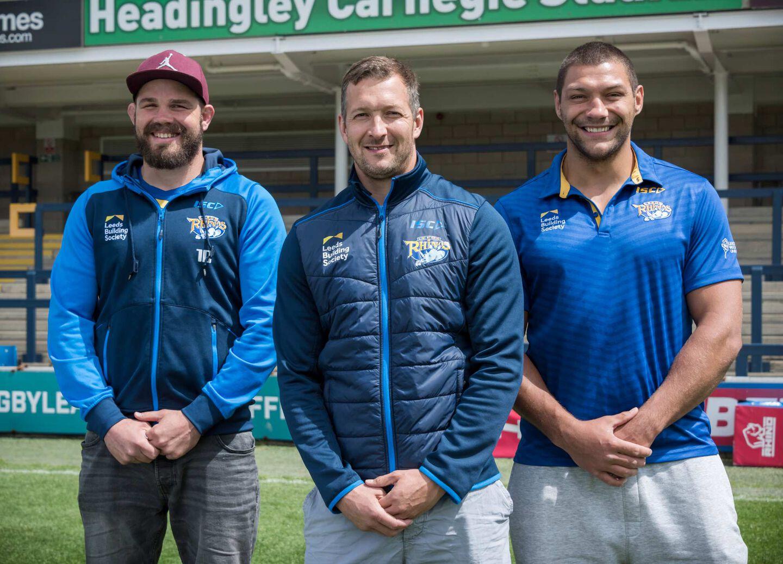 The Leeds Rhinos Rugby Team
