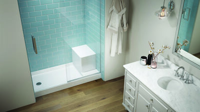 Catalina® Seated Shower Base