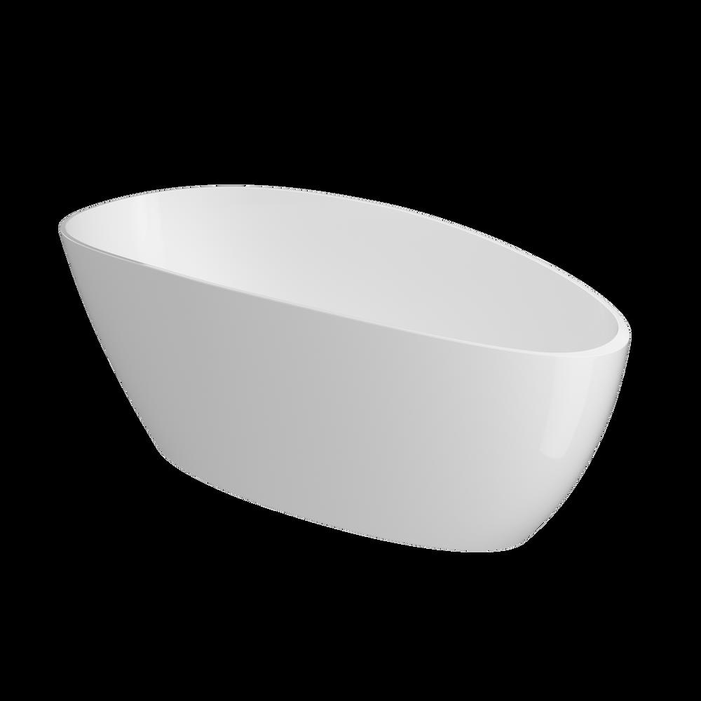 ILEANA® Freestanding 6730 Bath White Gloss/Gloss