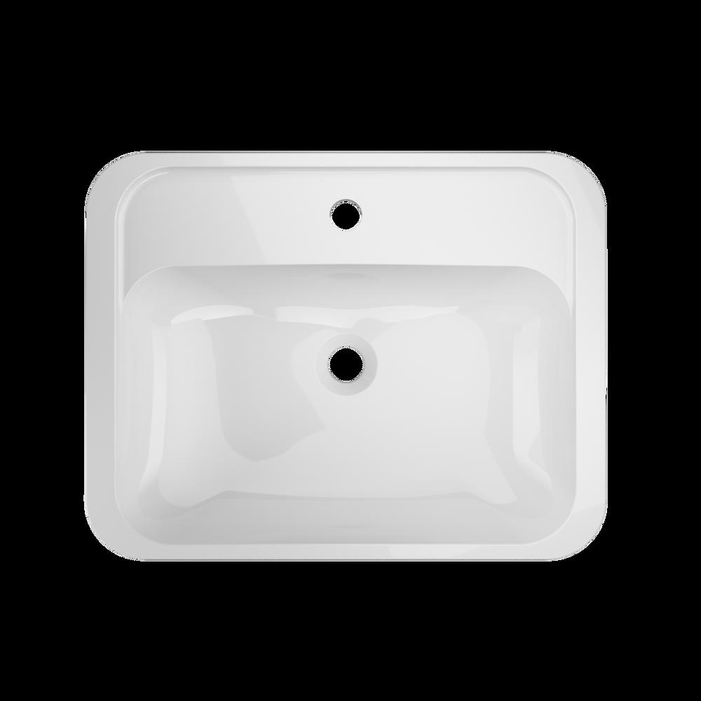 AVILA® Undermount Sink White Gloss