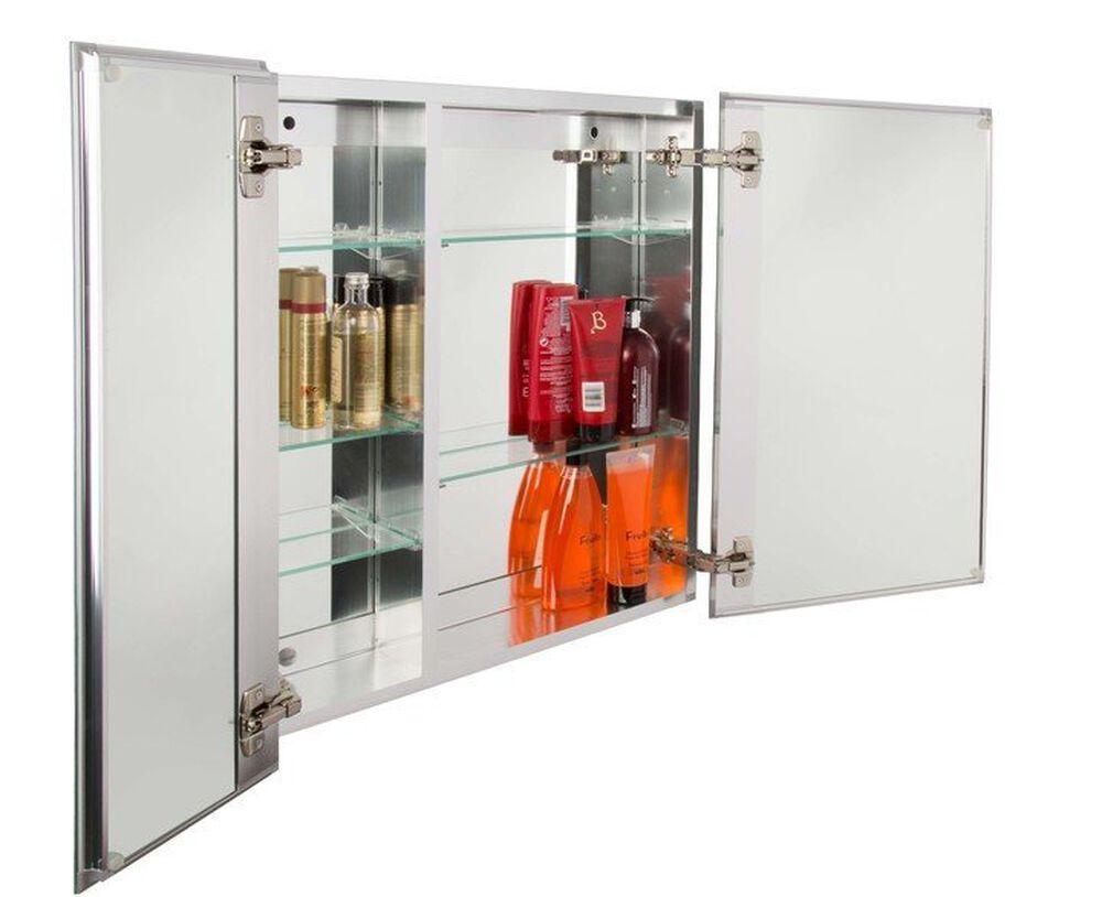 Double Door Bi-View Medicine Cabinet