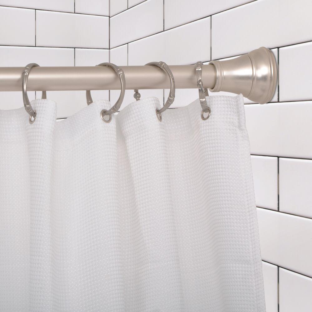 JACUZZI® Aluminum Straight Curtain Rod