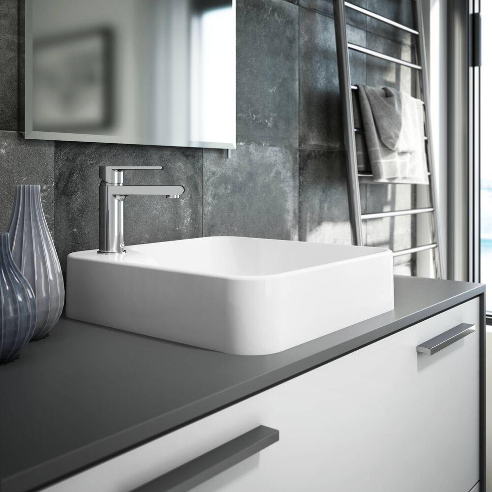 NERINA® Vessel Sink White Gloss