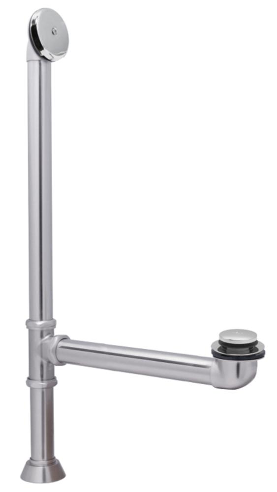 ERA™ Freestanding Toe-Tap Drain Chrome