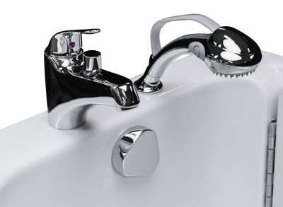 Fast-Fill™ Faucet  Comfortable Hand-Held Shower