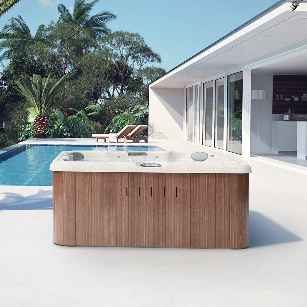 J-235™ Classic Hot Tub with Lounge Seat