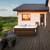 J-355™ Hot Tub with Comfort Lounge Seating and Cool Down Seat