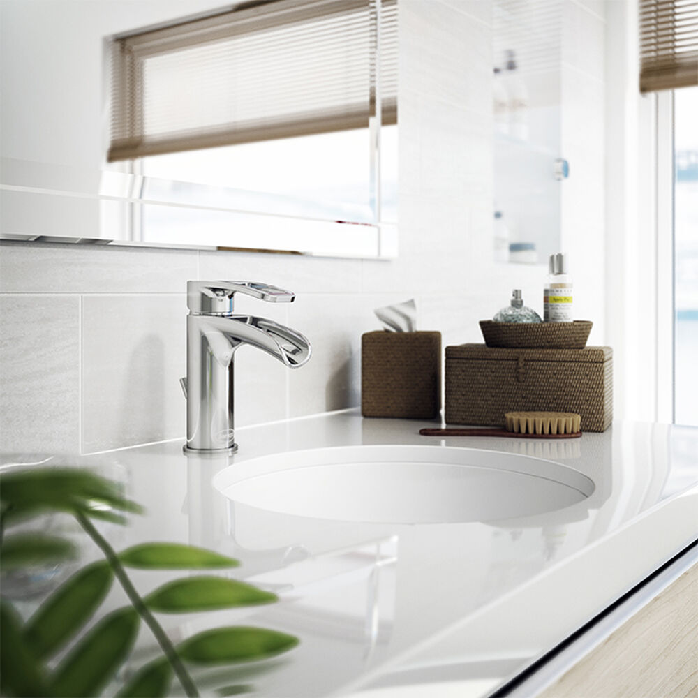 LEOLA®  Undermount Sink White Gloss