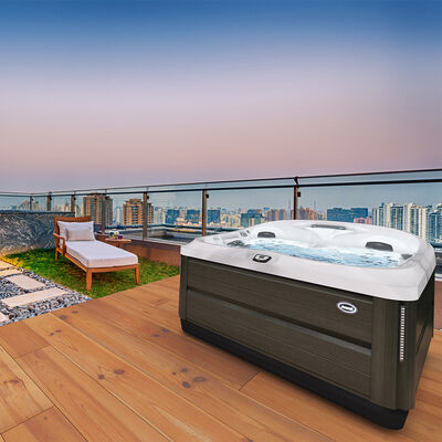 J-475™ Large Designer Hot Tub with Lounge Seat