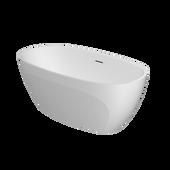 CONTENTO®  Freestanding 5932 Bath White Matte/Matte